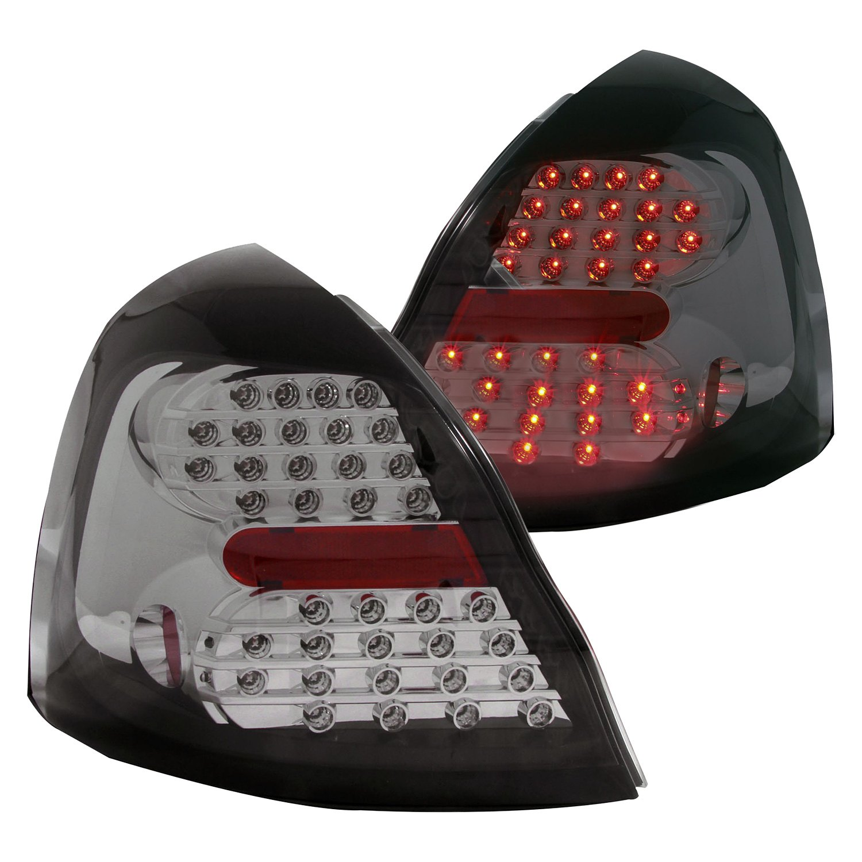 anzo 321261 pontiac grand prix 2004 chrome smoke led tail lights. Black Bedroom Furniture Sets. Home Design Ideas