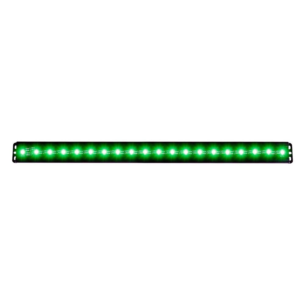 Anzo 861155 24 30w flood beam green led light bar anzo 24 30w flood beam green led light bar aloadofball Images