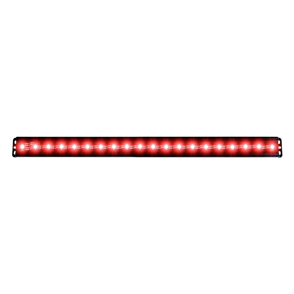 Anzo 861156 24 30w flood beam red led light bar anzo 24 30w flood beam red led light bar aloadofball Gallery
