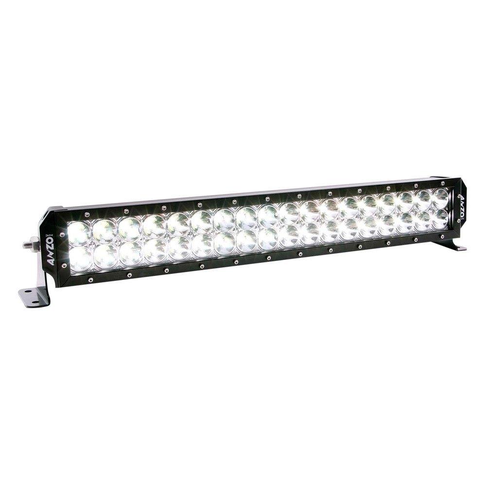 Anzo bolt on dual row led light bar anzo bolt on 24 108w dual row spot beam led light bar aloadofball Images