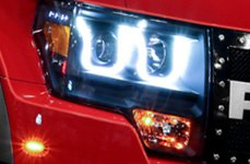 Anzo® - Halo Projector Headlights with LEDs