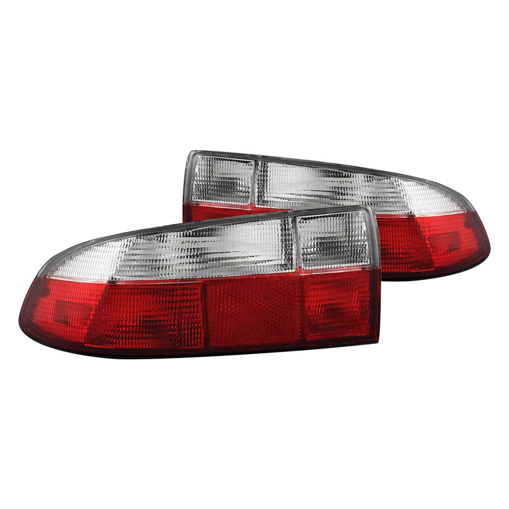 Anzo 174 221131 Bmw Z3 1996 2002 Red Clear Euro Tail Lights