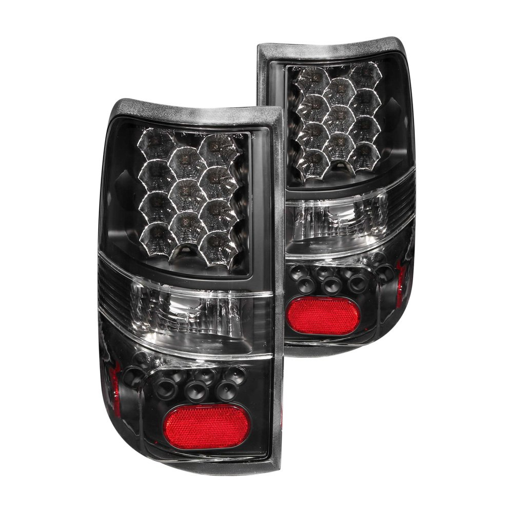 anzo 311024 ford f 150 2005 black led tail lights. Black Bedroom Furniture Sets. Home Design Ideas