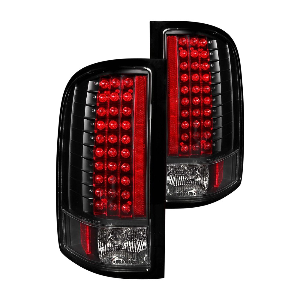 chevy silverado 2007 black led tail lights 2007 2012 chevy silverado. Black Bedroom Furniture Sets. Home Design Ideas