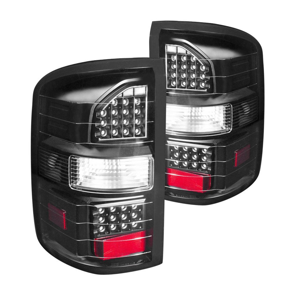 Anzo 311220 Black Led Tail Lights