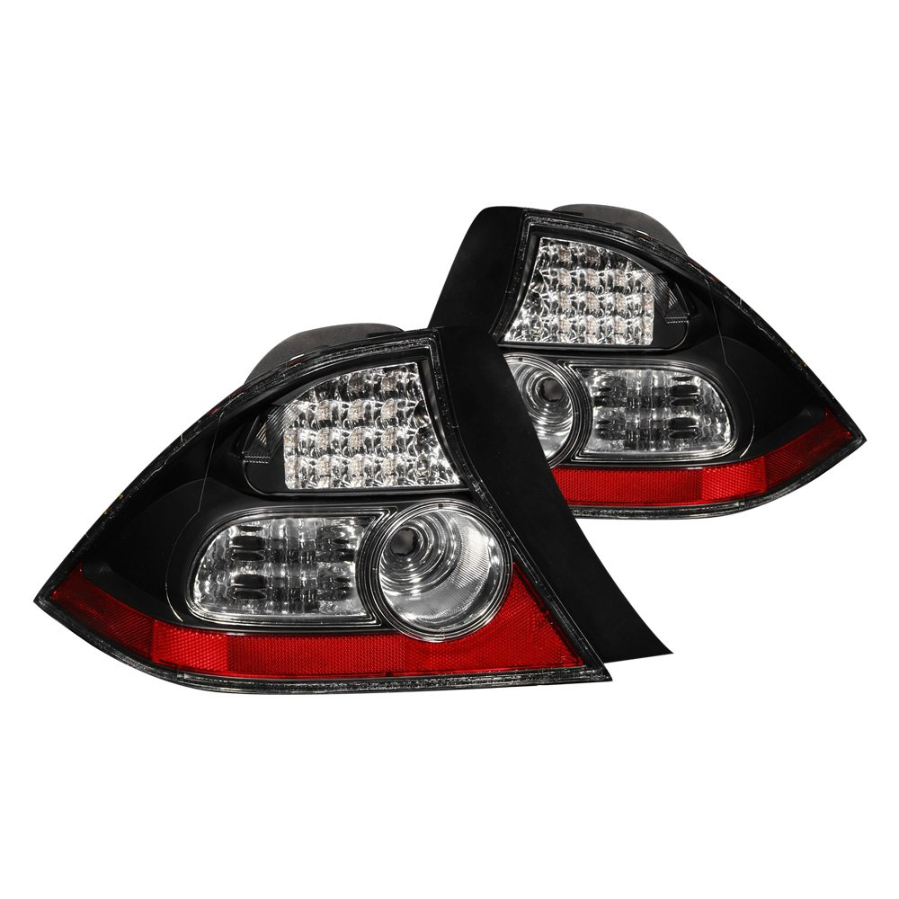 anzo 321035 honda civic 2004 black led tail lights. Black Bedroom Furniture Sets. Home Design Ideas