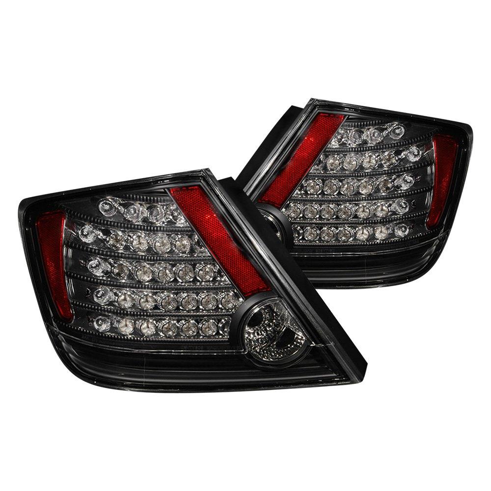 anzo 321062 scion tc 2005 2010 black led tail lights. Black Bedroom Furniture Sets. Home Design Ideas