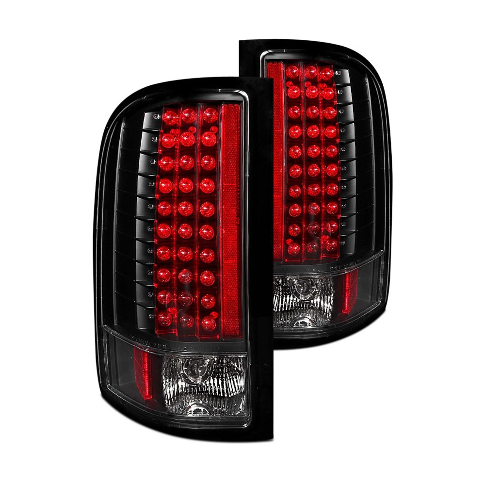 Anzo 174 Black Led Tail Lights