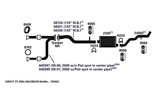 ap exhaust technologies 8408 exhaust pipe flange gasket. Black Bedroom Furniture Sets. Home Design Ideas