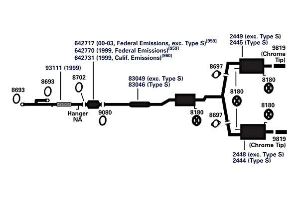 AP Exhaust 9282 Exhaust Gasket