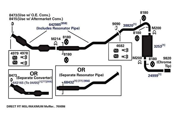 2004 Toyota Matrix Exhaust Diagram Online Schematic Diagram