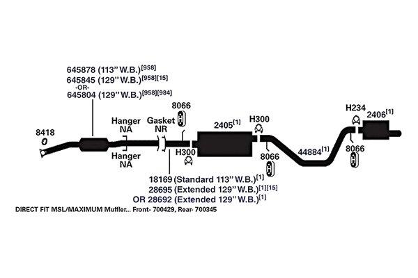 For Chevy Trailblazer 2002-2009 AP Exhaust Exhaust Pipe Flange Gasket | eBayeBay