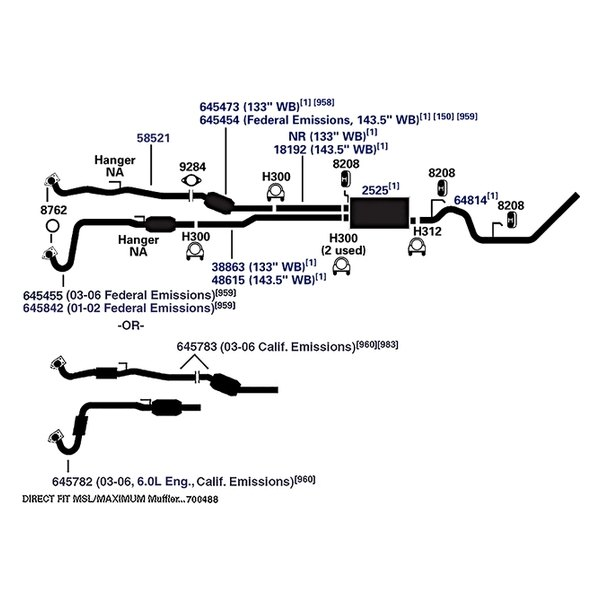 1984 gmc truck wiring diagram ap exhaust technologies® 18192 - exhaust pipe connector