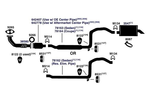 ap exhaust technologies 3547 challenge series aluminized steel rh carid com 2007 saturn ion exhaust system diagram saturn l300 exhaust system diagram