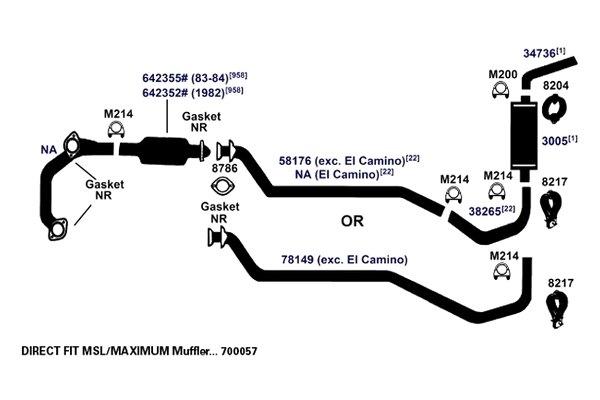 1984 Gmc Sierra Classic Wiring Diagram : Gmc sierra exhaust diagram detailed schematics
