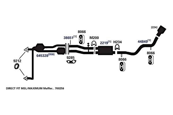 1998 Chevy Silverado Exhaust Diagram - Hanenhuusholli