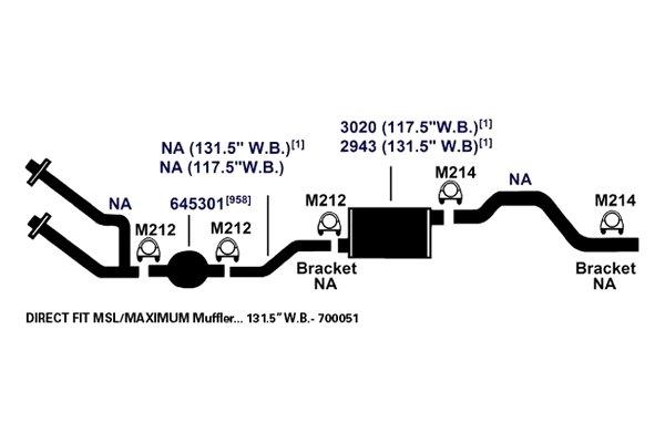 AP Exhaust M214 Exhaust Clamp