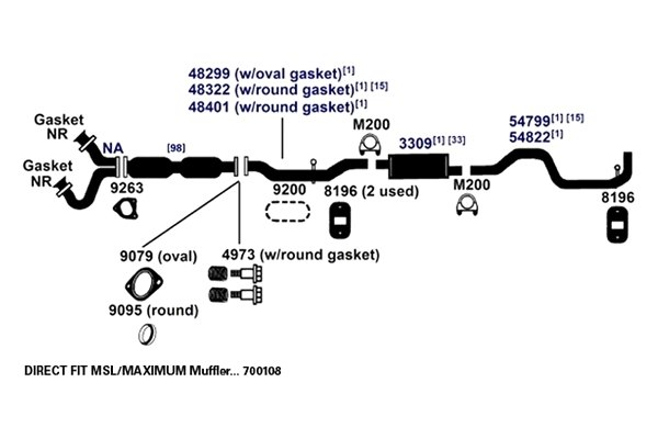 diagram 2000 ford ranger xlt exhaust