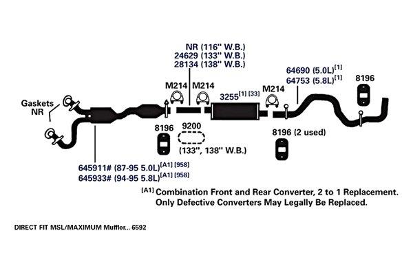 Catalytic Converter AP Exhaust 645933