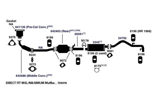 [SCHEMATICS_48IU]  For Mazda B2200 1987-1993 AP Exhaust 54792 Exhaust Tailpipe | eBay | Mazda B2200 Engine Exhaust Diagram |  | eBay
