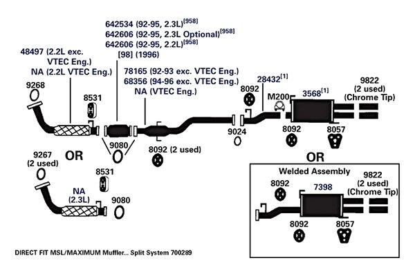 AP Exhaust 642606 Catalytic Converter