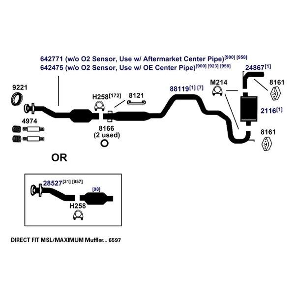 Catalytic Converter AP Exhaust 642771