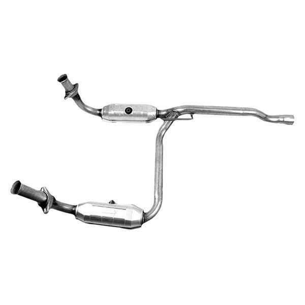 Catalytic Converter Prices >> AP Exhaust® - Dodge Nitro 3.7L 2008 Replacement Exhaust Kit