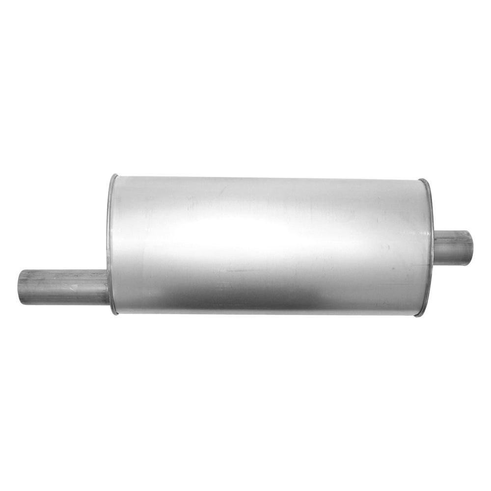 AP Exhaust® - Xlerator Performance Exhaust Muffler with Inlet / Outlet Neck