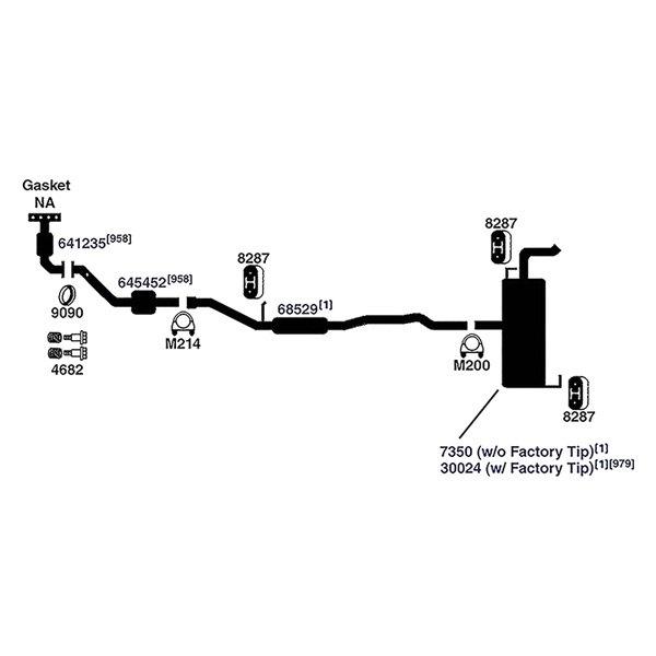 universal catalytic converter replacement