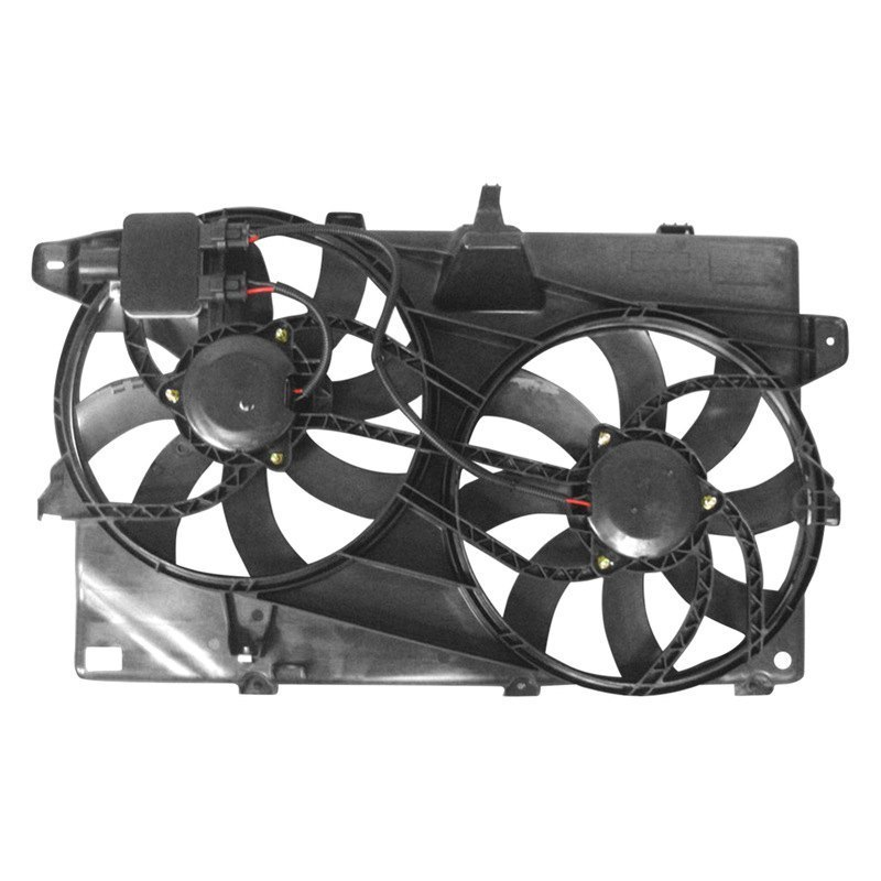 2009 Lincoln Mkx Engine Fan Removal - Radiator Fan ...