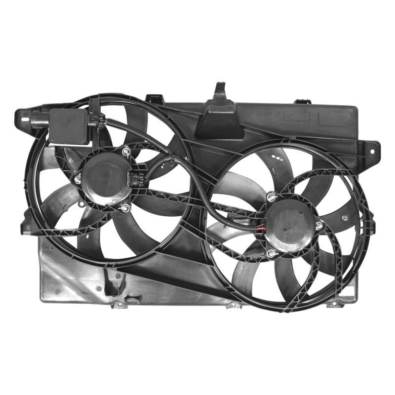 Replacement Motor Cooling Fans : Apdi ford edge dual radiator and condenser fan