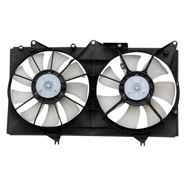 apdi toyota camry 2004 2006 dual radiator and condenser fan. Black Bedroom Furniture Sets. Home Design Ideas