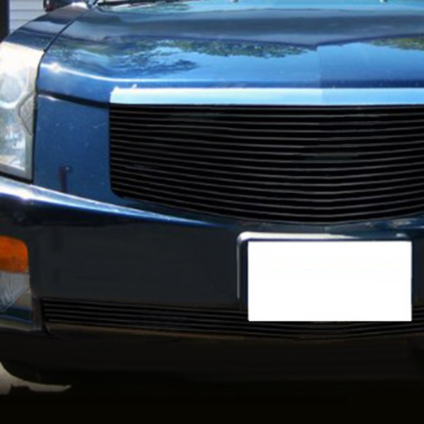 Cadillac CTS 2003 1-Pc Black Horizontal Billet Grille