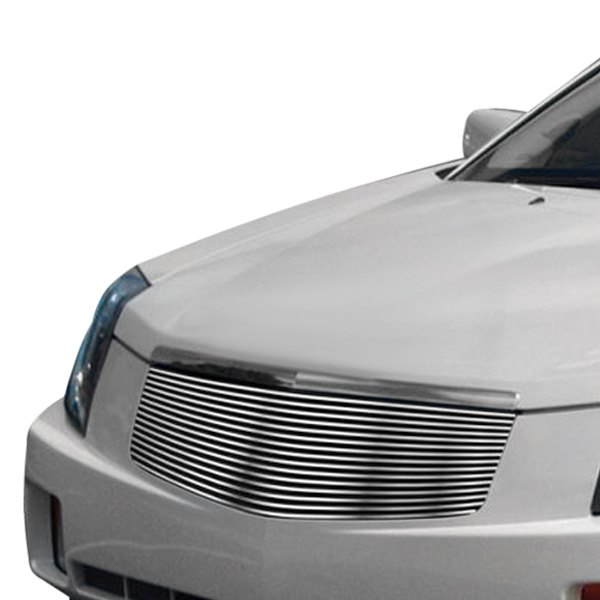 apg cadillac cts 2006 1 pc brushed horizontal billet grille. Black Bedroom Furniture Sets. Home Design Ideas