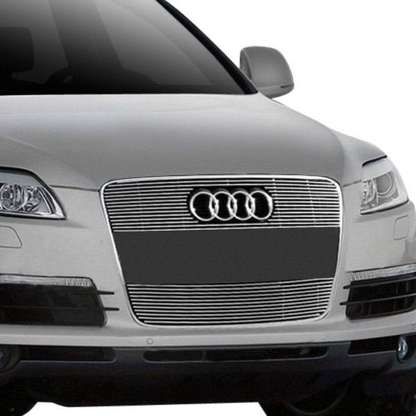 Audi Q7 2007 2-Pc Polished Horizontal Billet Main