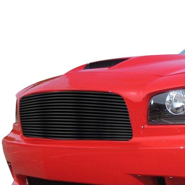 Dodge Charger 2009 1-Pc Black Horizontal Billet