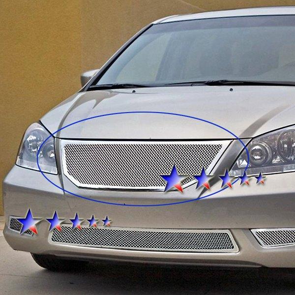Honda Odyssey 2008-2010 1-Pc Chrome 1.8mm Wire Mesh