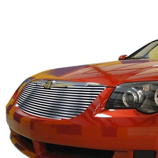 Fits 2004 2008 Chrysler Crossfire Billet Grille Grill: Chrysler Crossfire 2004-2008 1-Pc Hairline