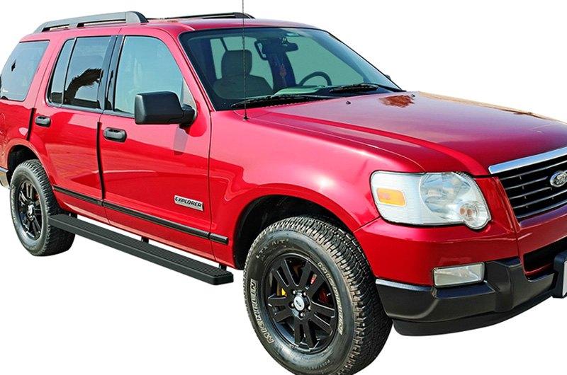"For Ford Explorer 2006-2010 APG IB06DJC2B 4/"" iStep Black Running Boards"