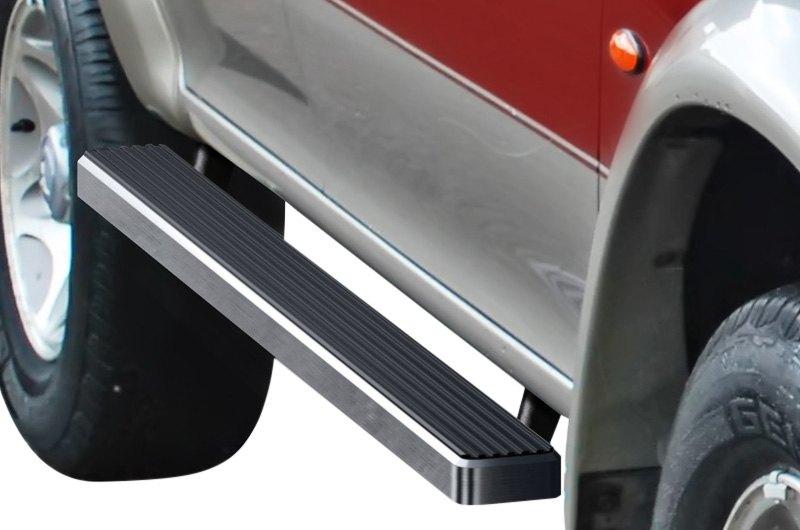 "For Mitsubishi Montero Sport 99-03 APG IB13EBB4B 5/"" iStep Black Running Boards"