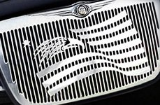 APG Symbolic Grille on Chrysler 300
