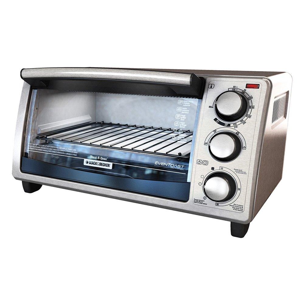 Countertop Convection Oven Toaster Reviews : Applica? TO1373SSD - 4-Slice Countertop Convection Toaster Oven