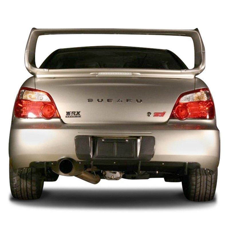 APR Performance® CBX-WRXLIC - Carbon Fiber License Plate Frame