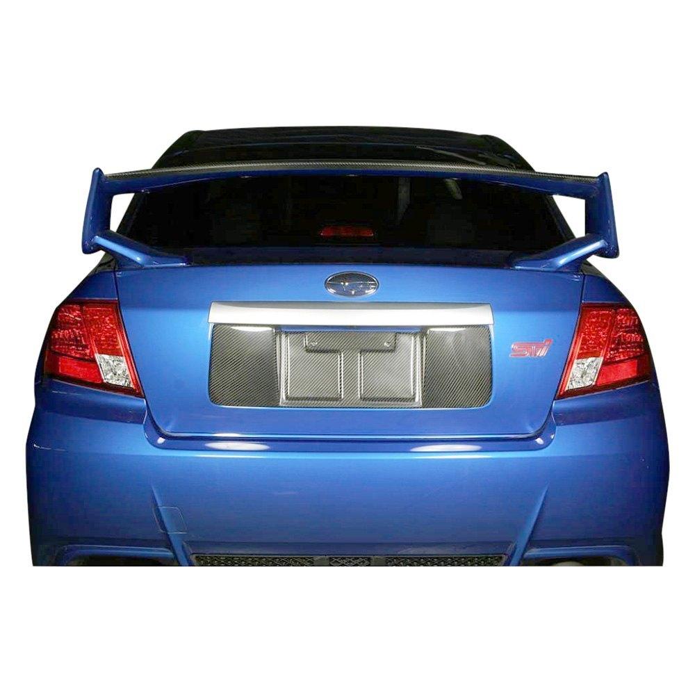 APR Performance® - Subaru WRX 2009-2011 Carbon Fiber License Plate Frame