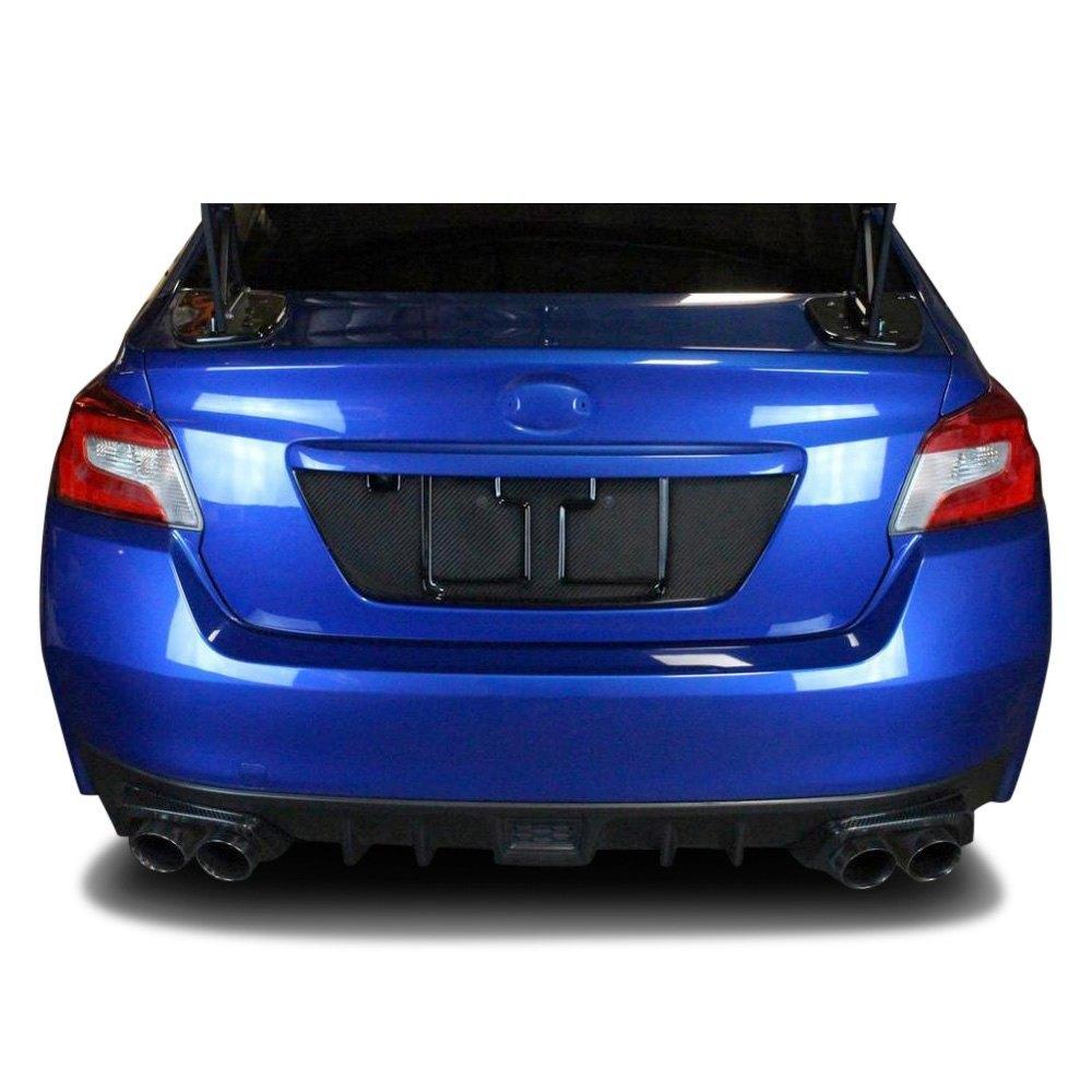 APR Performance® CBX-WRXLIC15 - Carbon Fiber License Plate Frame