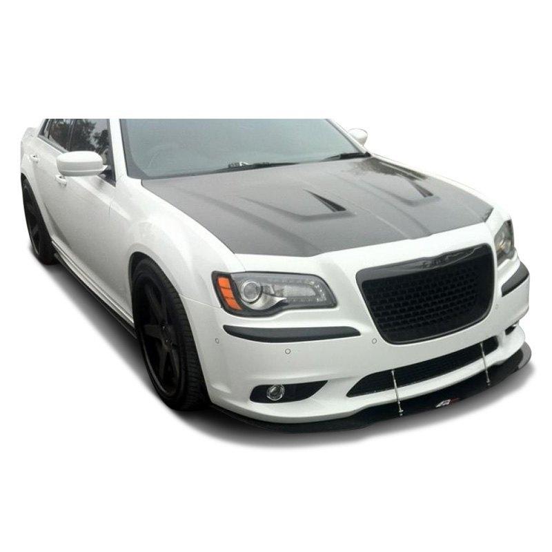 Details about For Chrysler 300 11-19 APR Performance Carbon Fiber Front  Wind Splitter w Rods