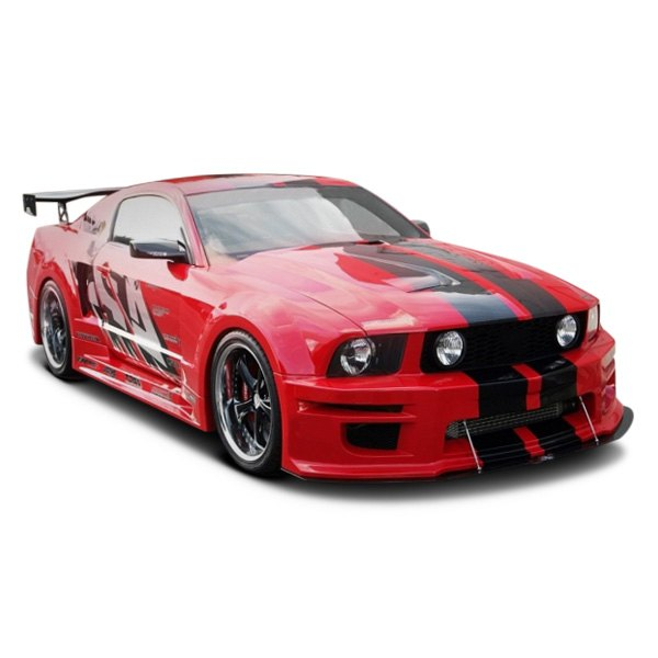 apr performance ford mustang 2007 wide body aero kit. Black Bedroom Furniture Sets. Home Design Ideas
