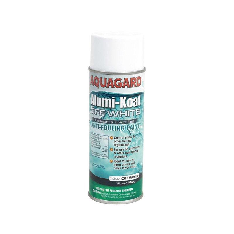 Aquagard 71307 White Alumi Koat Antifouling Spray Paint 12 Oz