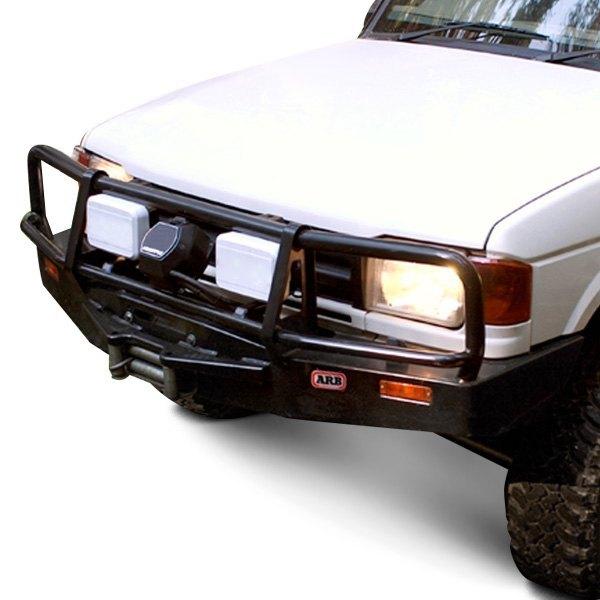 Deluxe Full Width Black Front HD Bumper