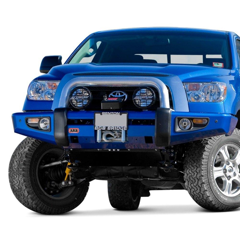 ARB® 3915030 - Sahara Full Width Raw Front Winch HD Bumper